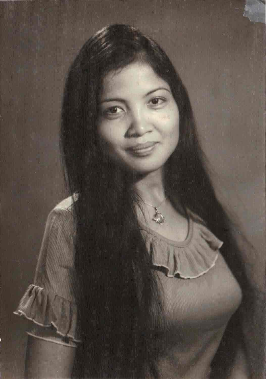 Photo used for Sian Soc's 1974 portrait.